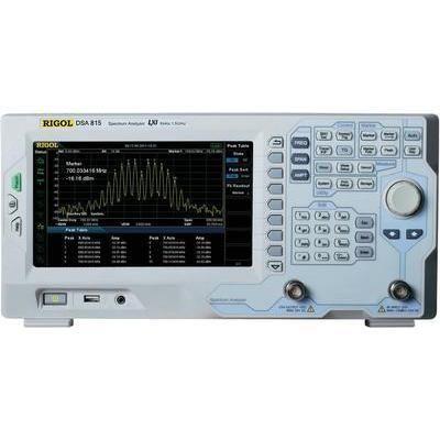 ANALYSEURS DE SPECTRE RIGOL DSA815 9 KHZ - 1,5 GHZ BANDES PASSANTES (BP) 100 HZ - 1 MHZ