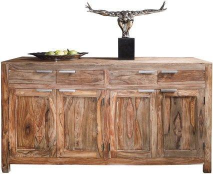 buffet wood en bois massif 4 portes et 4 tiroirs. Black Bedroom Furniture Sets. Home Design Ideas