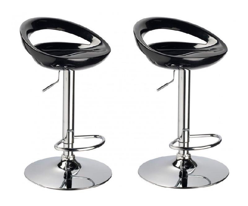 Tabouret de bar pied acier bross flow stool tabouret - Hauteur d un tabouret de bar ...