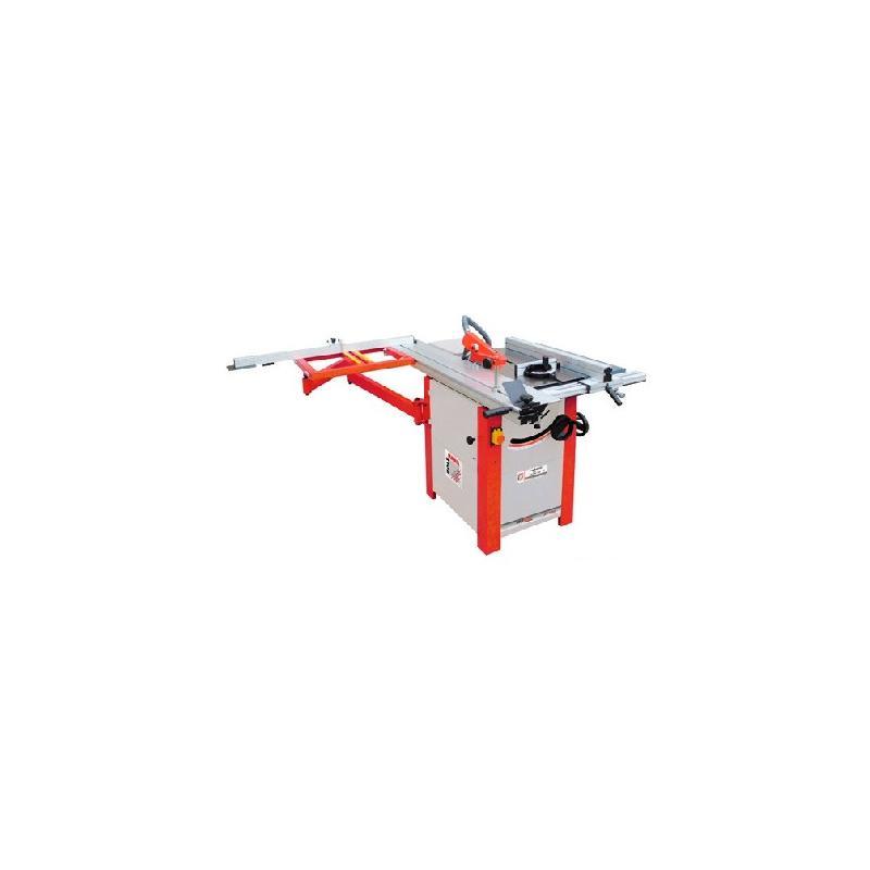 Scie sur table d. 250 mm chariot 1600 mm 230 v - 2200 w ts250f-1600-230v - holzmann
