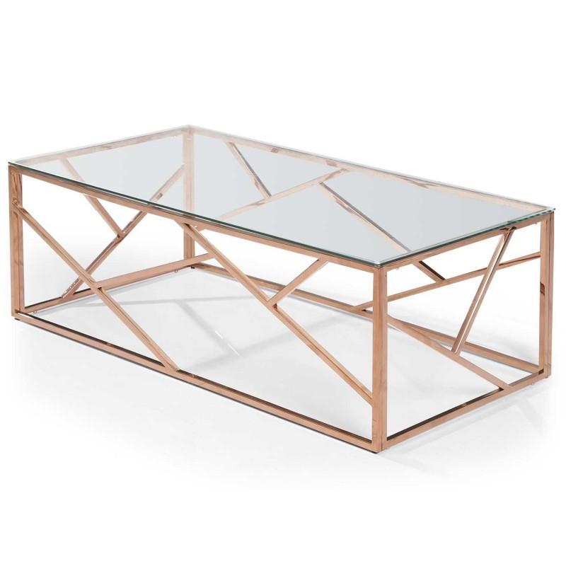 Or Design Table Paris Basse Rose Zita Prix 120cm A3Rq5L4j