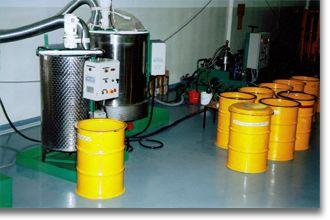 Decontamination d'huile radioactive procede weber-soltec