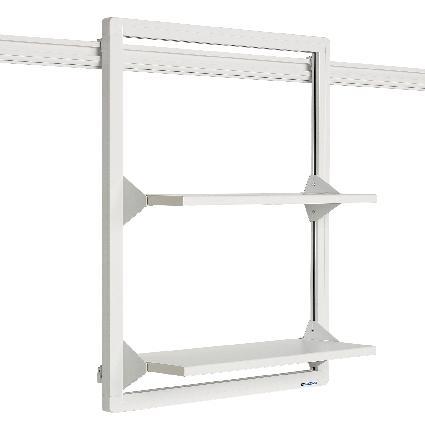 supports muraux fixes pour crans manutan collectivit s achat vente de supports muraux fixes. Black Bedroom Furniture Sets. Home Design Ideas