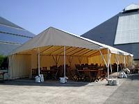 location de tente de 2 8 m de large hexair - Prix Location Tente Mariage 250 Personnes