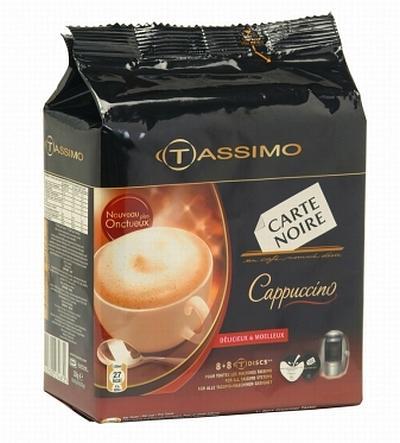 Capsule de cappuccino