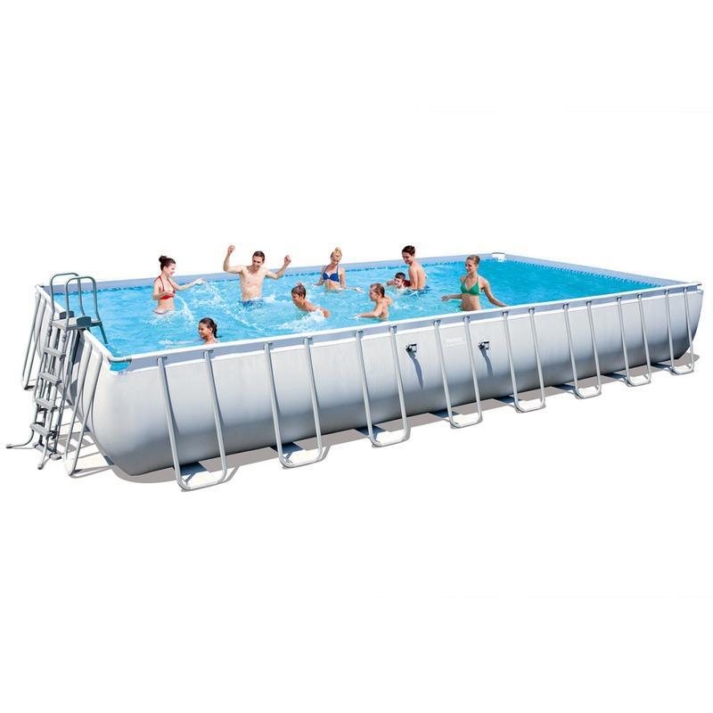 Piscines bestway achat vente de piscines bestway for Piscine rectangulaire acier