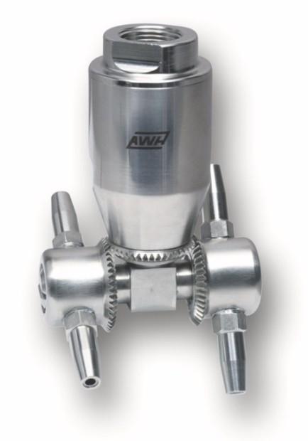 Tête de lavage à jets rotatifs compacte