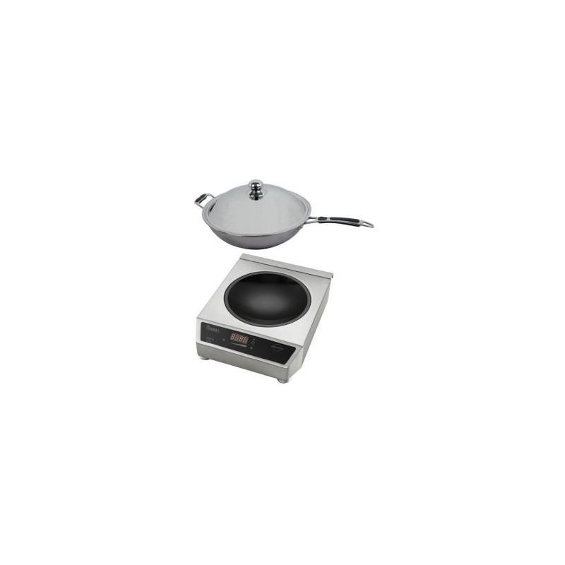 wok induction. Black Bedroom Furniture Sets. Home Design Ideas