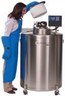Cryoconservateur à azote liquide