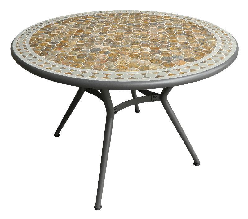 Table ronde comparez les prix pour professionnels sur for Plateau table ronde 110 cm