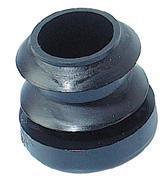 PRODIF-SOMEC EMBOUT ROND ENTRANT POLYÉTHYLÈNE NOIR Ø 16 MM (E4416)