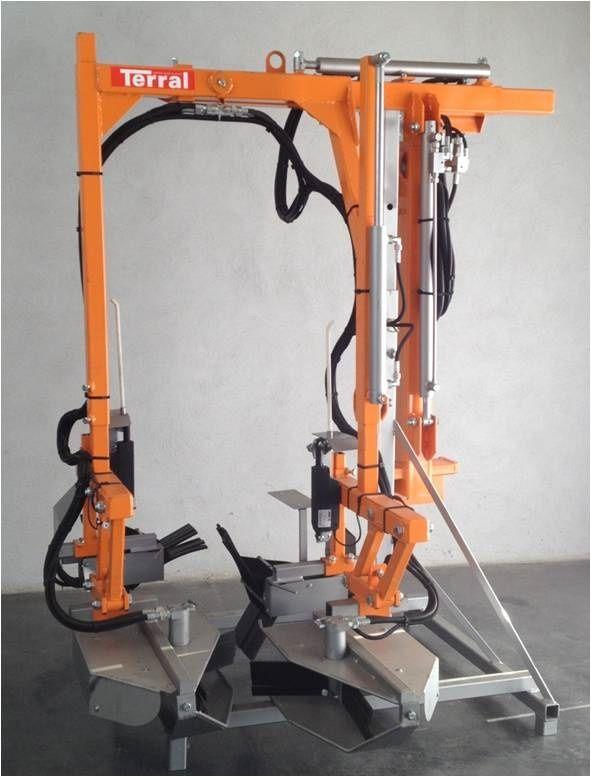 épampreuse mécanique - terral - 4 rotors