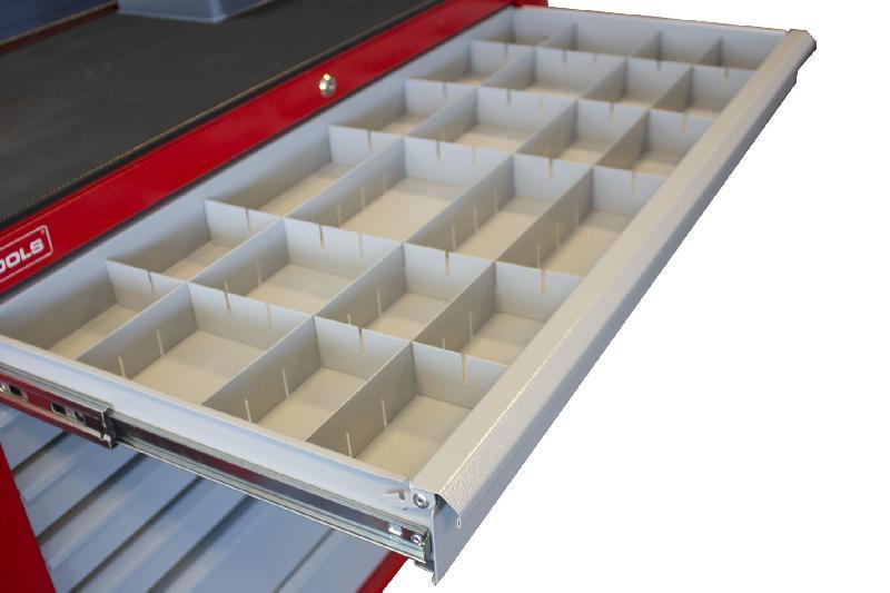 Lattes de séparations pour tiroirs gw307g mw-tools lv307