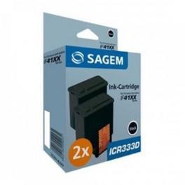 SAGEM - ICR333D - PACK DE 2 CARTOUCHES D'ENCRE NOIRE - 2 X 500 PAGES - 253014397
