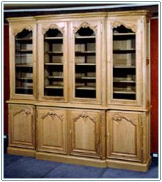 Bibliotheque de style louis xv habitat - Bibliotheque meuble habitat ...