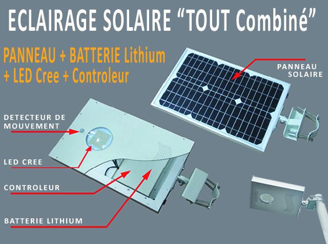 lampadaire solaire lithium led controleur candelabre tout combine 8w. Black Bedroom Furniture Sets. Home Design Ideas