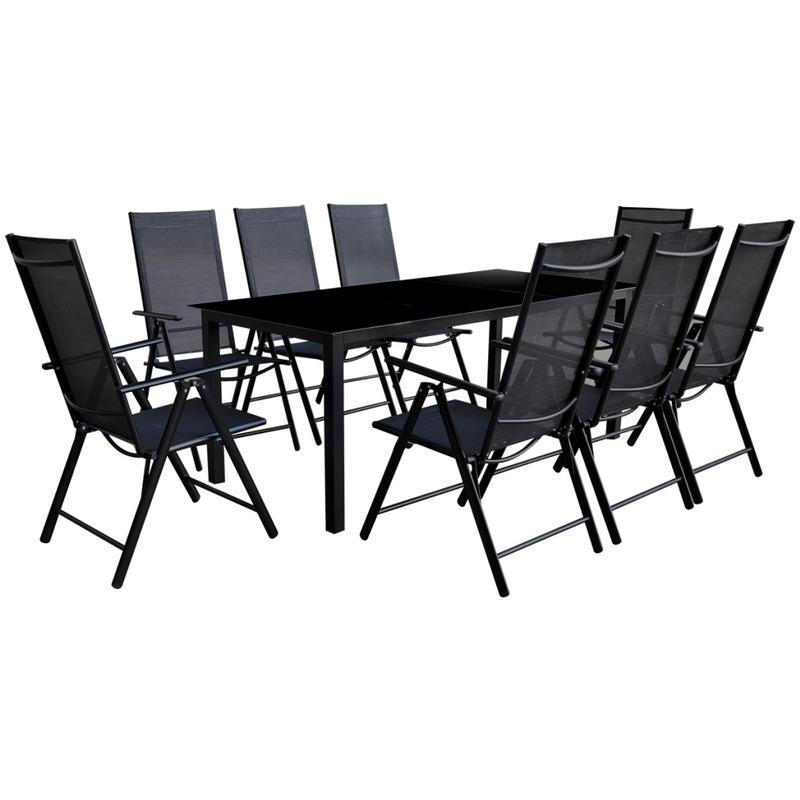 salon de jardin en aluminium tous les fournisseurs de. Black Bedroom Furniture Sets. Home Design Ideas