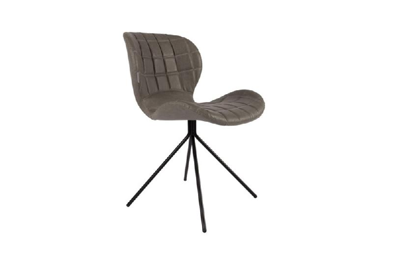 zuiver chaise omg ll similicuir gris comparer les prix de zuiver chaise omg ll similicuir gris. Black Bedroom Furniture Sets. Home Design Ideas