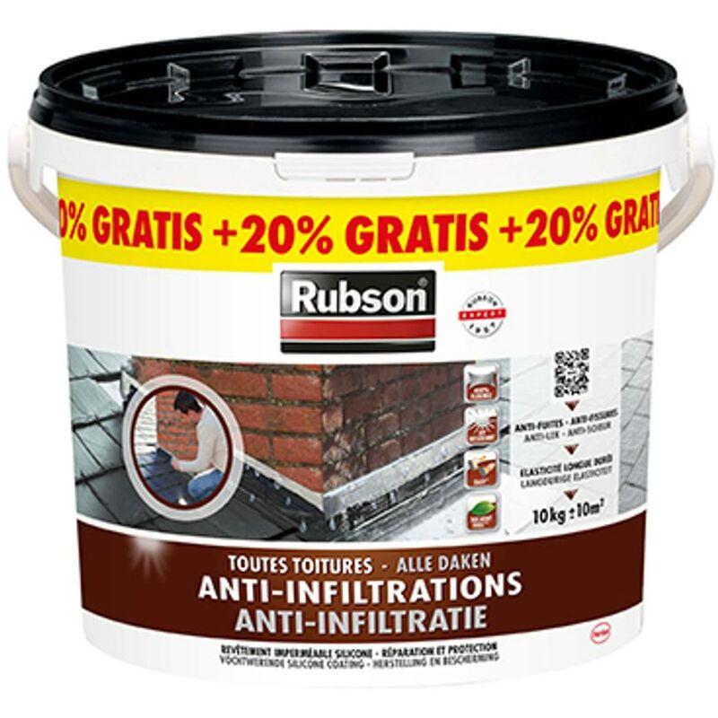 RUBSON ANTI-INFILTRATIONS NOIR - 12 KG