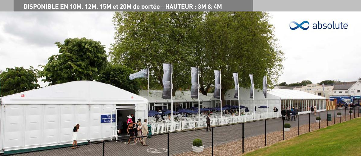 location structure absolute - Prix Location Tente Mariage 250 Personnes
