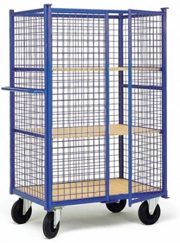 chariot grillag avec porte 2 tag res amovibles hkgp33d1n comparer les prix de chariot grillag. Black Bedroom Furniture Sets. Home Design Ideas