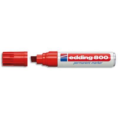 MARQUEUR PERMANENT EDDING JUMBO E-800 - ROUGE