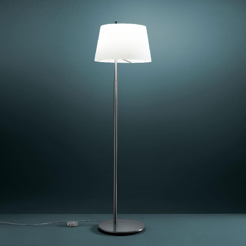 passion lampadaire acier bross h175cm lampadaire. Black Bedroom Furniture Sets. Home Design Ideas