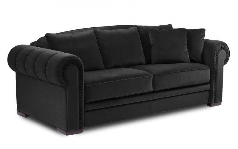 canape chesterfield convertible systeme rapido couchage 160 200 cm. Black Bedroom Furniture Sets. Home Design Ideas