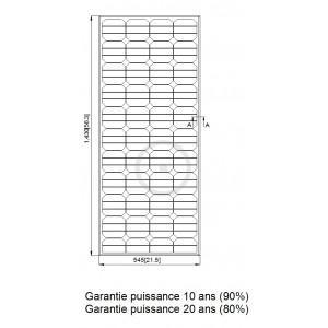 Dimension Panneau Photovoltaique : panneau solaire 130w tr s haut rendement comparer les ~ Premium-room.com Idées de Décoration