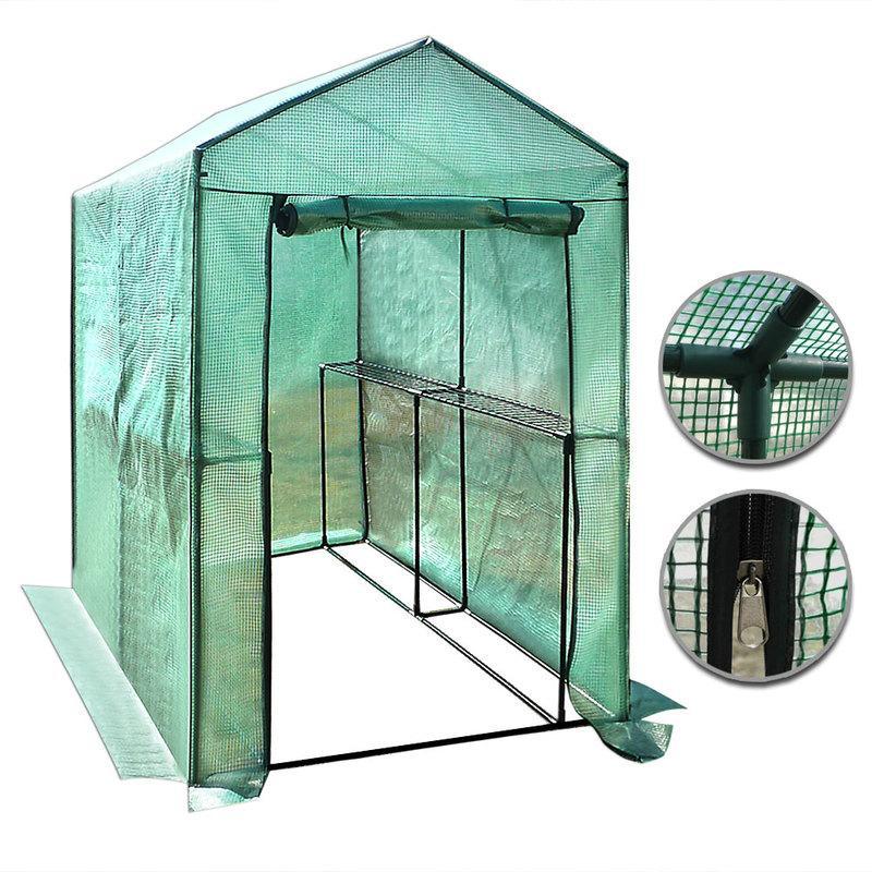 Serre de potager tous les fournisseurs de serre de for Bache plastique pour serre de jardin