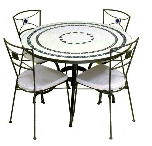 table zellige exterieure. Black Bedroom Furniture Sets. Home Design Ideas