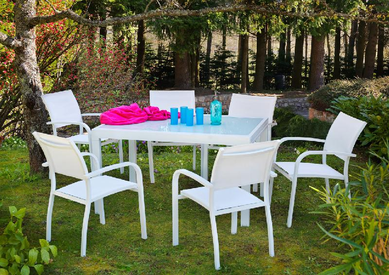 Awesome Table De Jardin Extensible Truffaut Images
