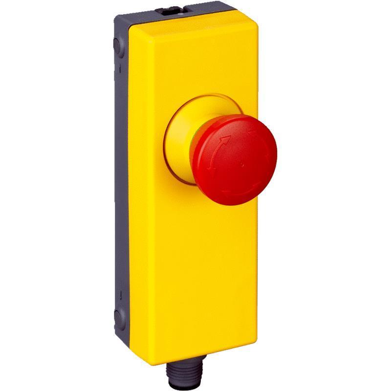 Bouton poussoir d 39 arret d 39 urgence compatible flexi loopn es11 sa1a4 - Bouton arret d urgence ...