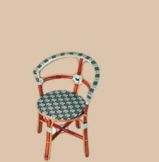 chaise de bistrot rivoli ref 3427. Black Bedroom Furniture Sets. Home Design Ideas