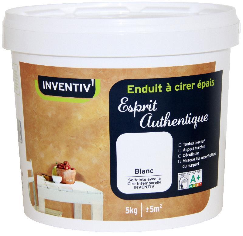 Enduit inventiv achat vente de enduit inventiv - Enduit decoratif a cirer ...