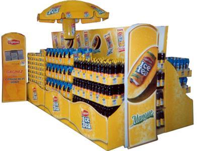 Rayonnages et présentoirs pour boissons