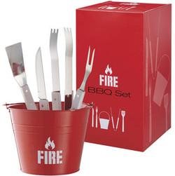 SET BARBECUE FIRE
