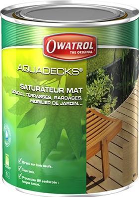 Aquadecks - saturateur bois en phase aqueuse