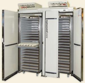 Panimatic - chambres de fermentation contrôlées pour chariots boulangerie