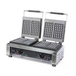 GAUFRIER DOUBLE ELECTRIQUE - %100 ACIER - 4400 W - NEUF - EQUIPEMENTPRO COMSCHOP