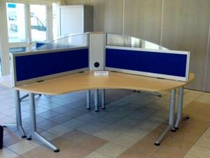 Cloisons de bureaux cloisonnette pour table et bureau