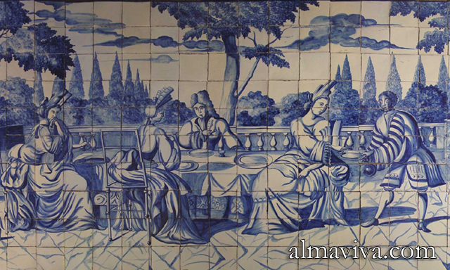 20170923020906 fresque carrelage mural for Carrelage mural azulejos
