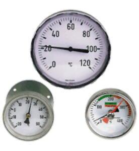 Thermometres bimetalliques