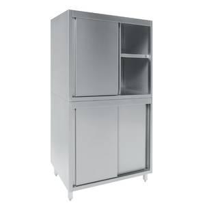 armoire a vaisselle materiau acier inoxydable 18 10. Black Bedroom Furniture Sets. Home Design Ideas
