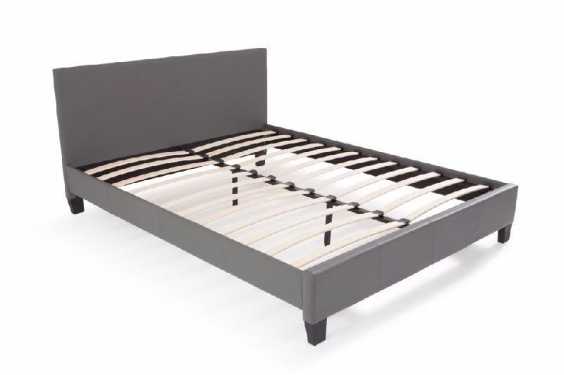 lit design boby similicuir gris couchage 140 190 cm comparer les prix de lit design boby. Black Bedroom Furniture Sets. Home Design Ideas