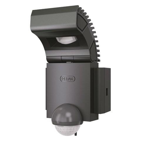 Noxlite spot led d 39 ext rieur avec d tecteur 8w gris for Spot exterieur led avec detecteur