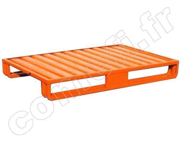 pln068 palette t le emboutie 1000kg 2 patins comparer. Black Bedroom Furniture Sets. Home Design Ideas