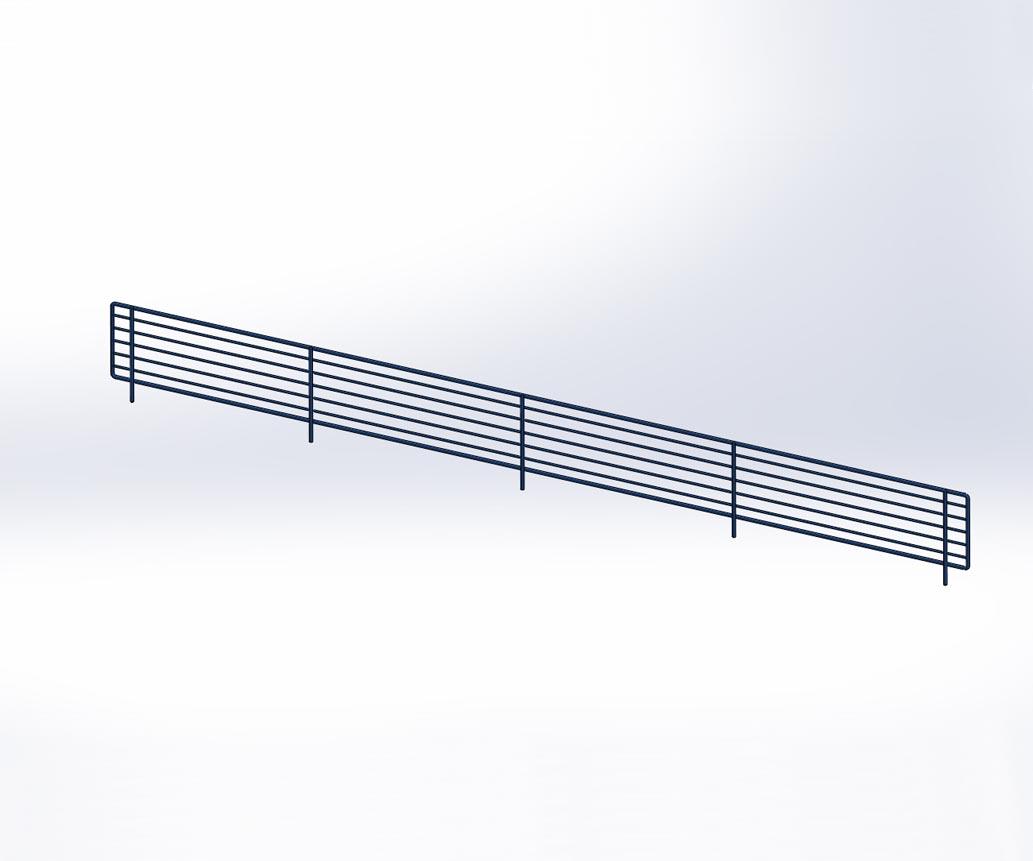 accessoires pour gondole tous les fournisseurs barre. Black Bedroom Furniture Sets. Home Design Ideas