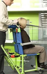 chaise d 39 evacuation evacusafe excel. Black Bedroom Furniture Sets. Home Design Ideas
