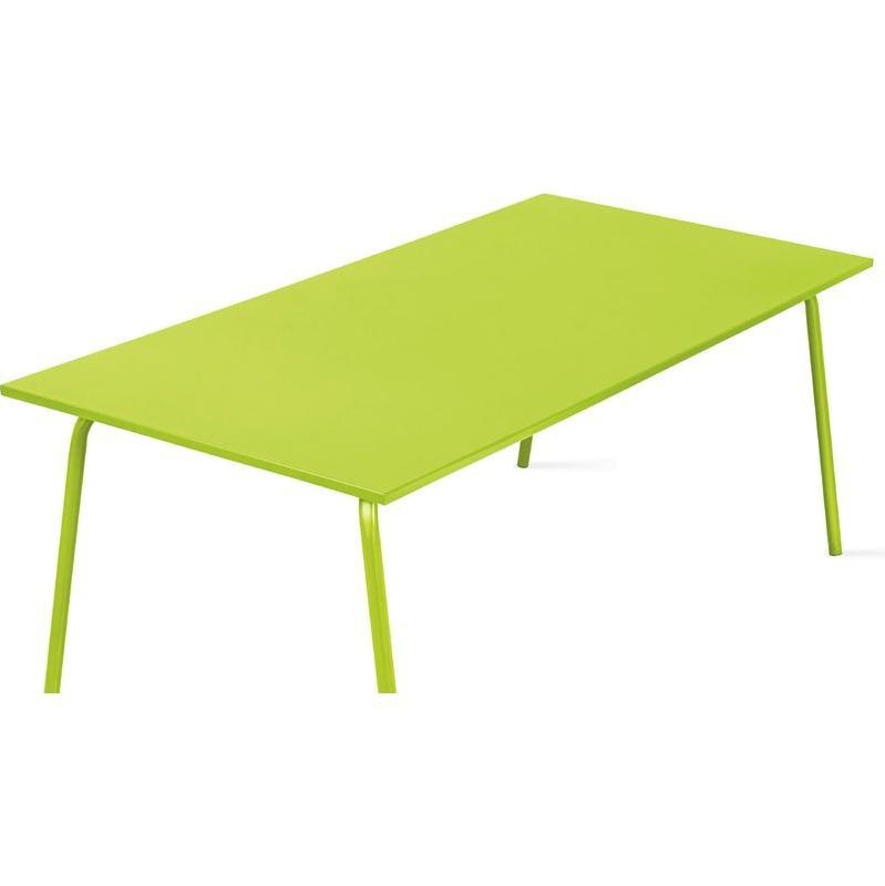 Table d 39 ext rieur en acier tous les fournisseurs de for Table de jardin verte